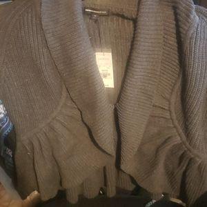 Express medium gray sweater